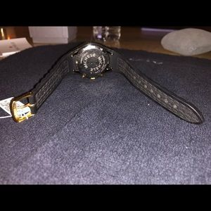 Michele Accessories - Michele Tahitian Black Silicone Ladies Watch